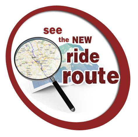 See the Ride Route