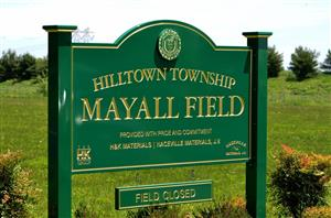 H&K Gathers with Hilltown Township Officials and Family Members to Dedicate Mayall Field