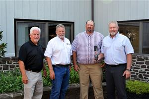 Metso, Cleveland Bros. Recognize H&K Group's Historic Cone Crusher